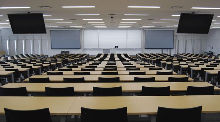 愛知大学 様 講義棟L1104教室フォト